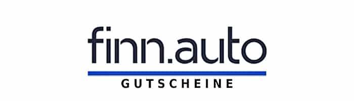 finn.auto Gutscheine Logo Beitrag